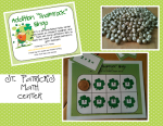 St. Patrick's Differentiated Math Freebie