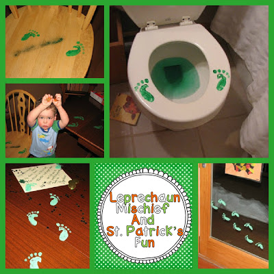 leprechaun collage