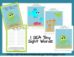 Linking up for some beach/sea fun . . . and a little freebie.