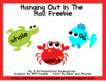 Send 'em to the hallway . . . and a freebie to help you get started.