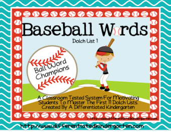 Ball Words and Top Bananas! Dolch Word and Letter Mastery