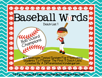 Ball Words and Top Bananas! Dolch Word and Letter Mastery ...