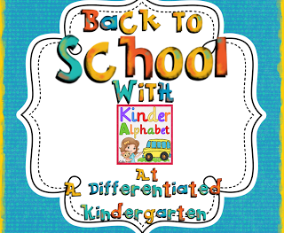 Back To School With Guess Who? Lidia from Kinder Alphabet