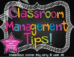 Classroom Management Hodge Podge and a freebie.