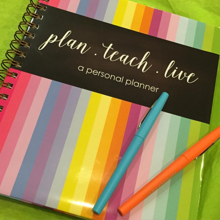 Happiness is a brand spanking new planner from amodernteacher Itshellip