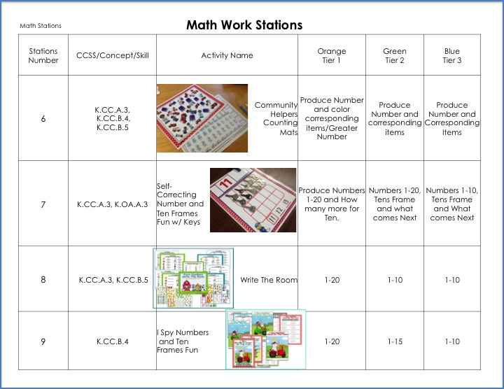 sample lesson plan for kindergarten math winter math