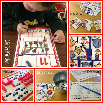 addressing interests in kindergarten math station