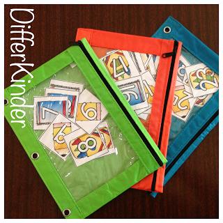 differentiate using color in kindergarten
