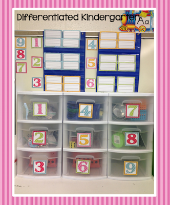 differentiate using color in kindergarten