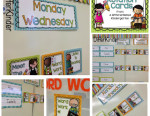 Organizing Daily 5 Literacy Stations in Kindergarten and …a freebie for you.