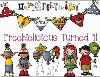 Happy Birthday Freebielicious!!!!