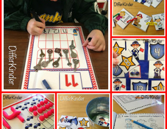 Differentiated Math Stations For The Beginning of The Year and A Couple Of Freebies!