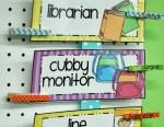 Differentiated Kindergarten's Classroom Helpers