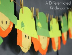 A Differentiated Kindergarten  Math Stations Tips  and a Freebie  Linky  Party
