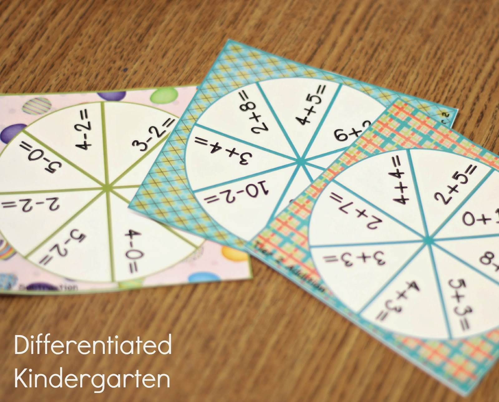 differentiated instruction in kindergarten example