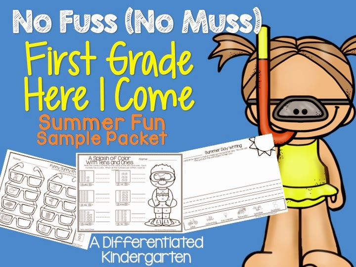 First grade summer school worksheets