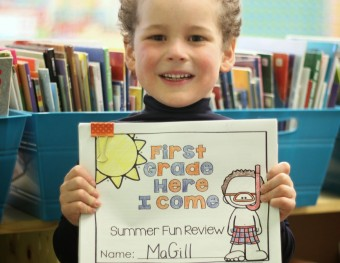 First Grade Here I Come:  Summer Review Fun