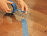 One roll of painters tape can save your sanity . . . here's how!