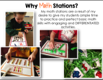Daily 5: 2nd Edition-Daily 3 Math – My Differentiated Kinder Spin on it!