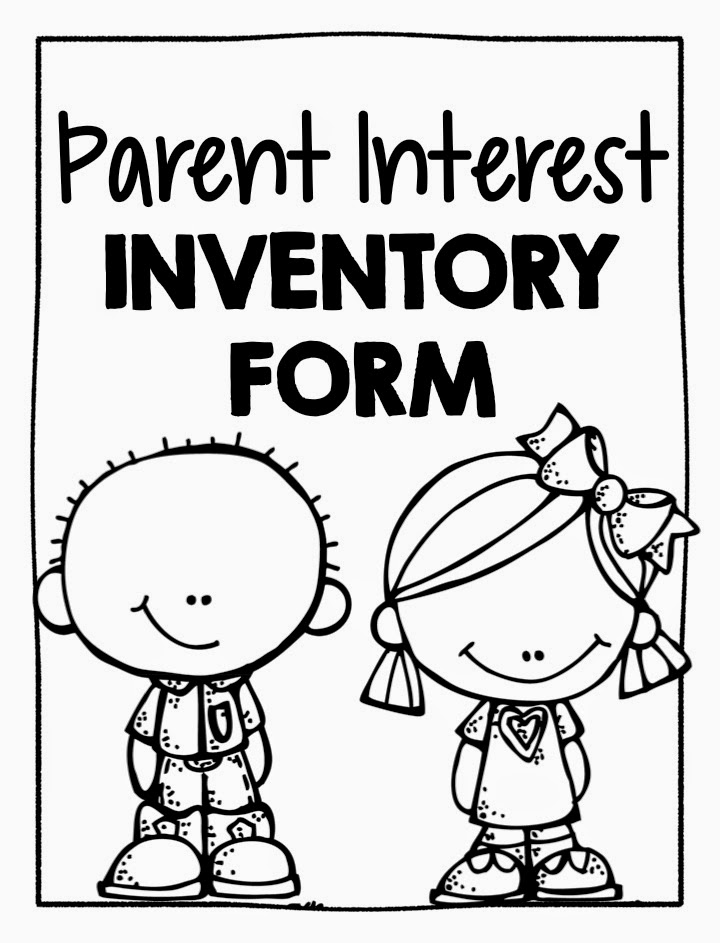 kindergarten parent interest inventory
