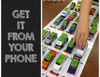 Grabbing Differentiated Kindergarten's Flash Freebies From Your Phone