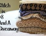 Stitch Fix #8 and A Giveaway