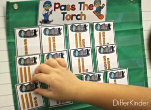 math stations tens and ones
