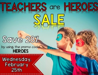 Super Savings For Super Hero Teachers from TpT and Differ Kinder
