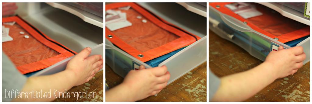 Making kindergarten morning work bins independent and engaging.