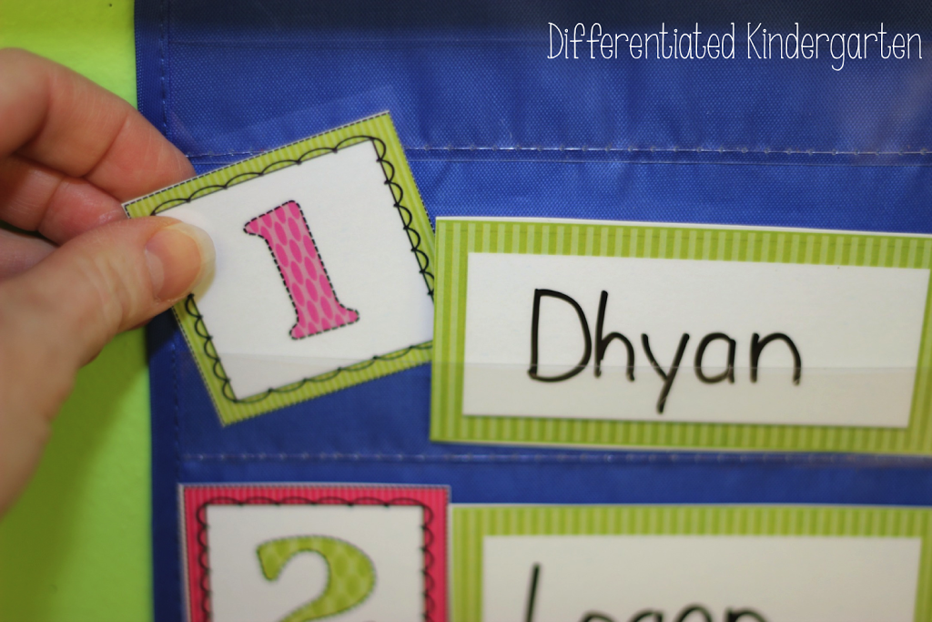 Tips for setting up morning work bins including free printable rotation cards and name plates.