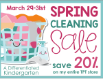 Spring Cleaning Sale 20% Off Everything