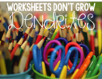 Worksheets Don't Grow Dendrites!  Chapters 1 and 2 Bookstudy