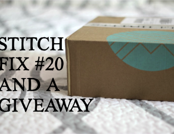 Stitch Fix #20 and a Giveaway for You!!!