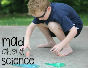Mad Science Monday:  Exploding Chalk Rockets