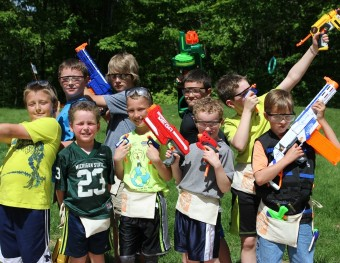 It's Nerf or Nothing Party Time