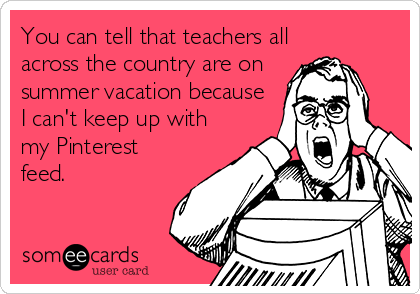 teacher summer 2