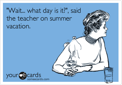 teacher summer1