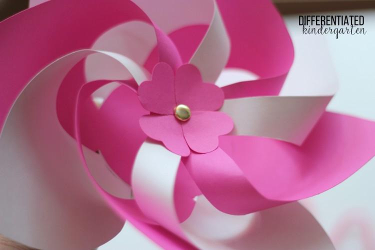 Astrobrights pinwheels