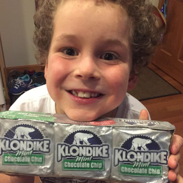 Finding Klondike bars in the freezer that you forgot fromhellip