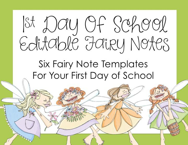 First Day of School Fairy Tradition
