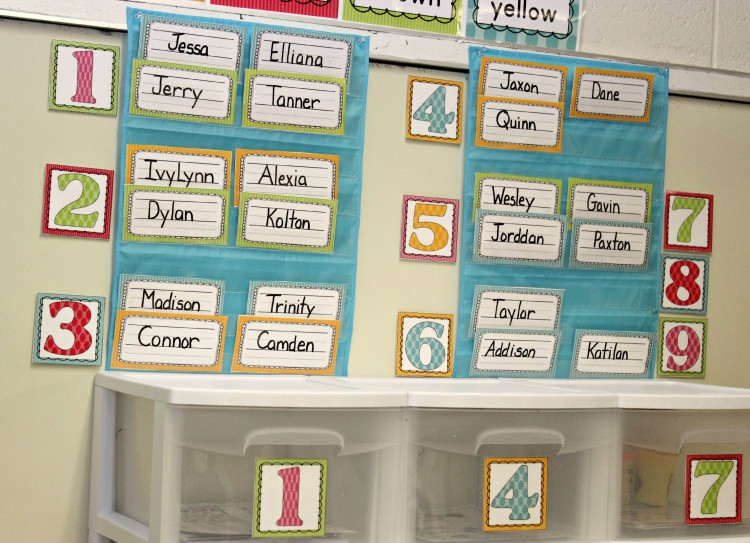 Back To School Math Stations-The First Days