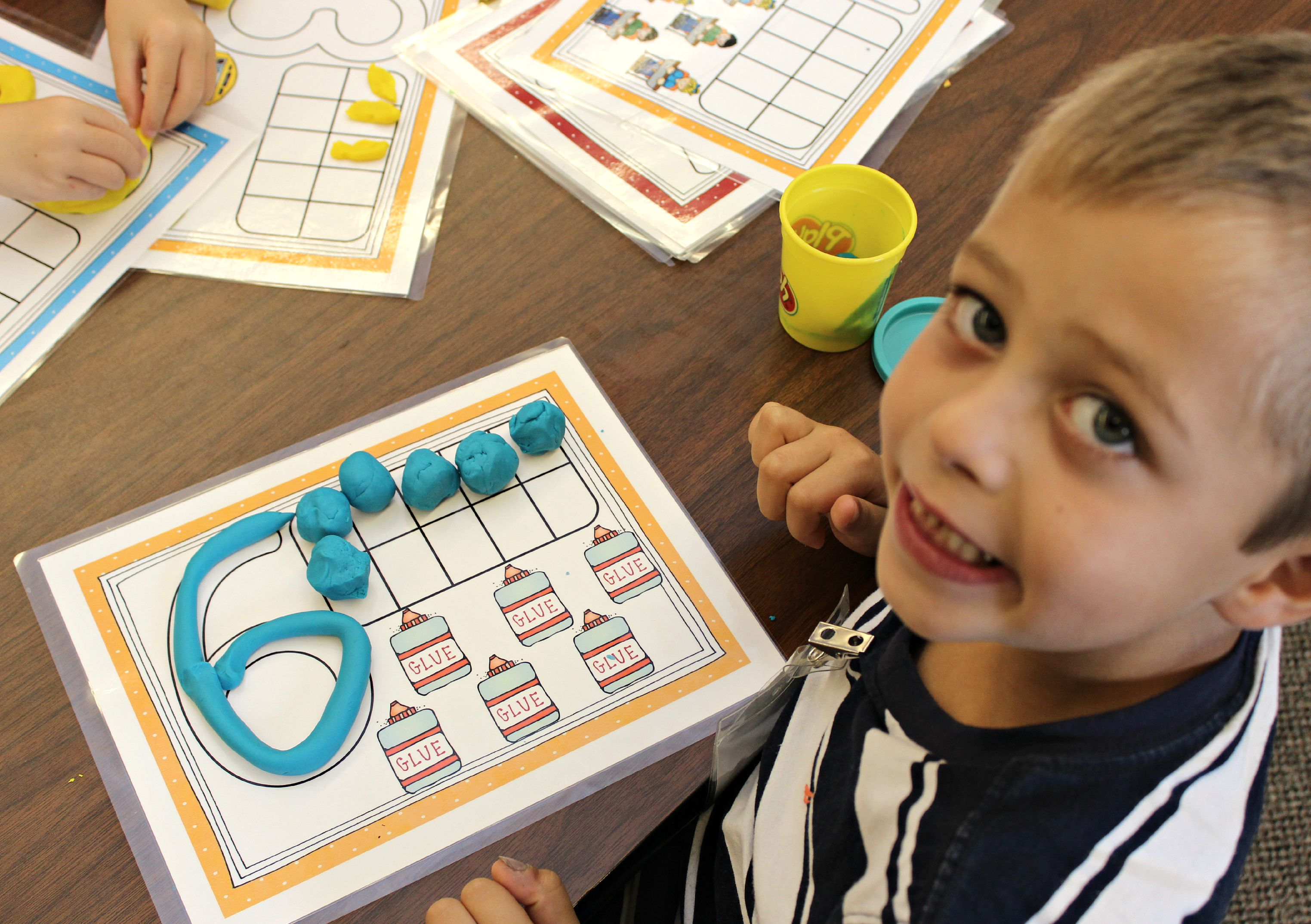Kinder Garden: The Reality Of The First Day Of Math Stations