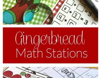 Gingerbread Men Love Math