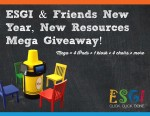 New Year-New Resources 13 Days Mega Giveaway!