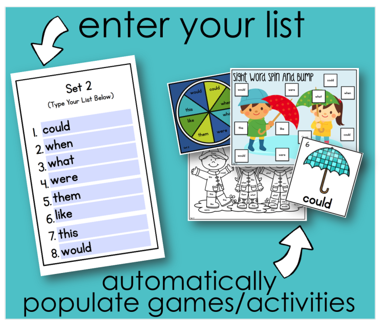 graphic about Free Printable Sight Word Activities identified as Tremendous Uncomplicated \