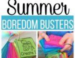 Summer Educational Boredom Busters Freebie