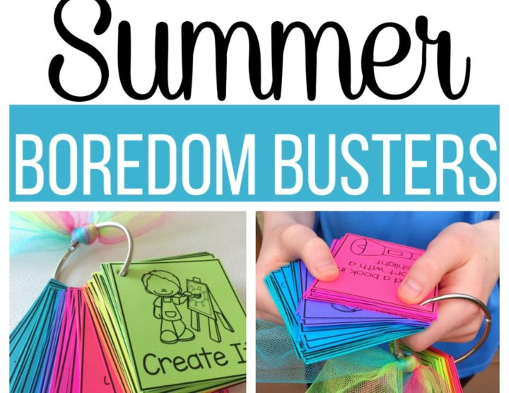 summer boredom buster collage