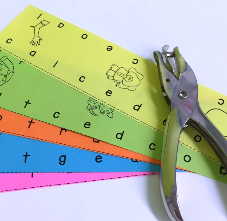 hole punch cards