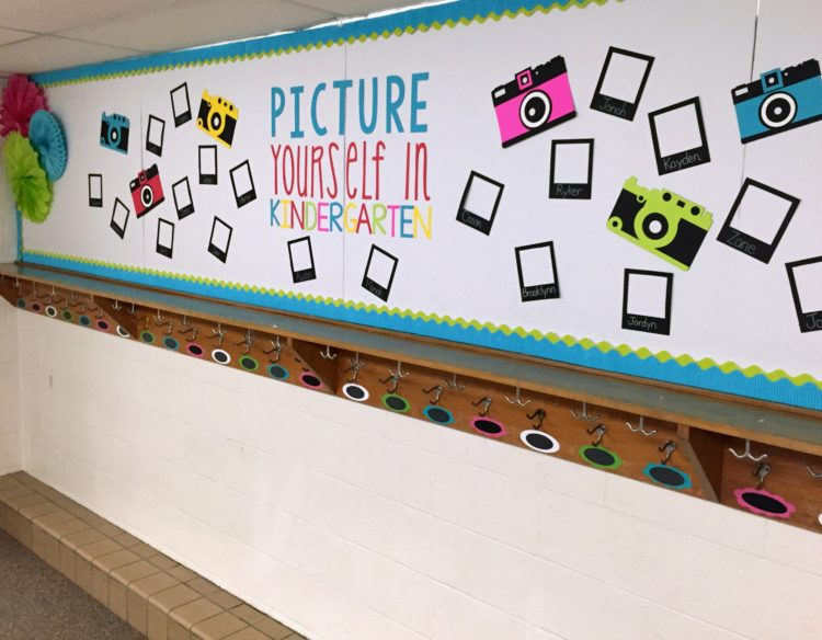 Kindergarten Back To School Bulletin Board