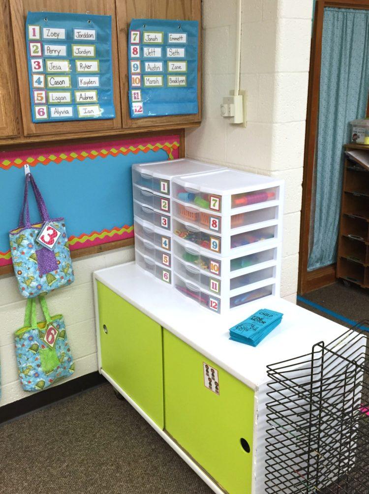 Morning Work Bins at Differentiated Kindergarten